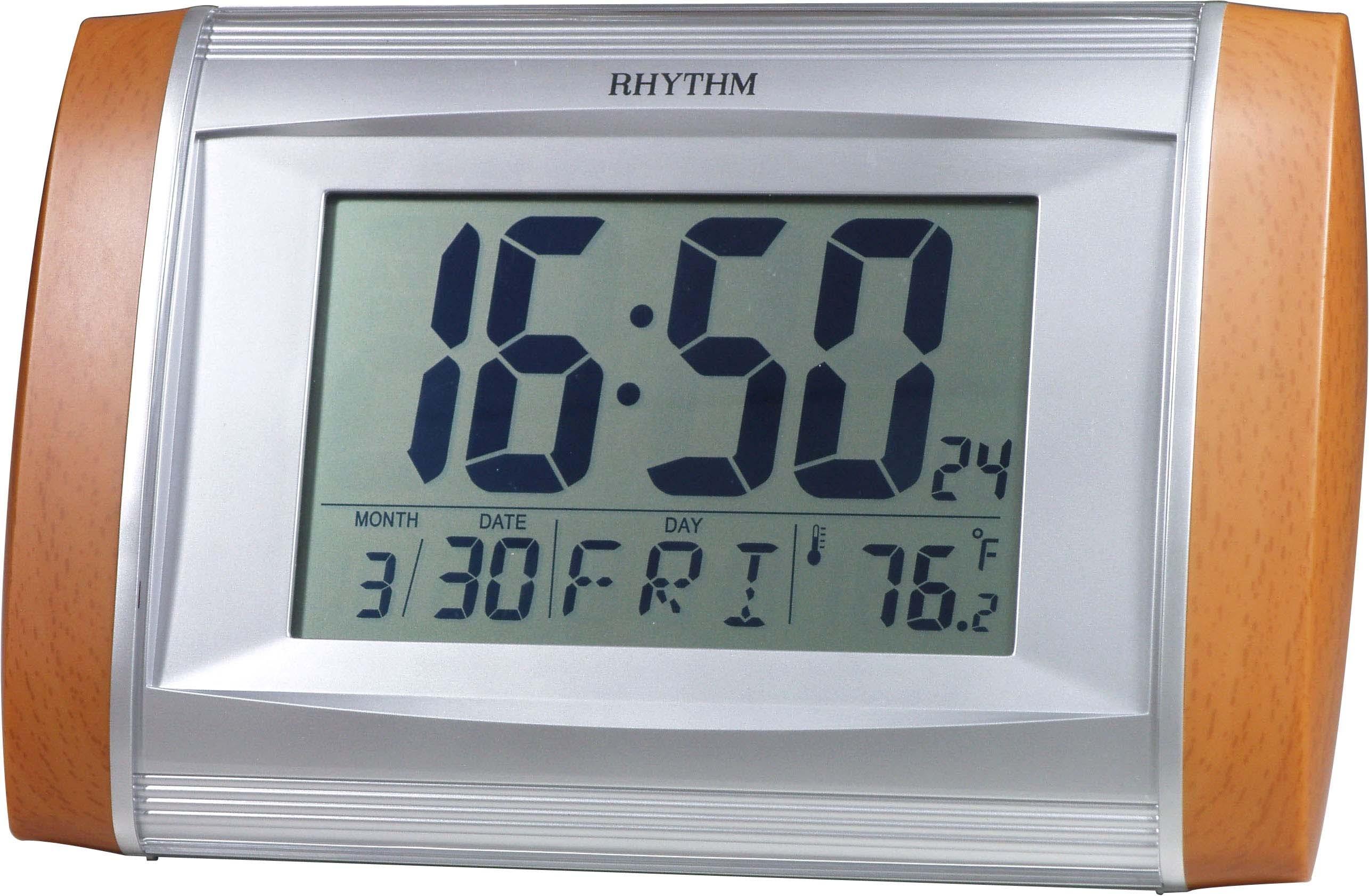 Ρολόγια    Ξυπνητήρια   Επιτραπέζια    RHYTHM Ψηφιακό ρολόι τοίχου ή ... 378593571a6